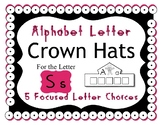 Beginning Alphabet Sound Crown Hat Set for the letter S