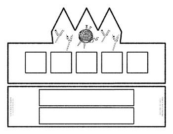 Beginning Alphabet Sound Crown Hat Set for the letter Y