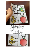 Beginning Alphabet Sounds Puzzle