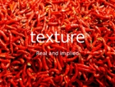 Beginning Art Introduction to Texture