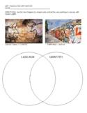 Beginning Art Venn Diagram: Cave Art and Graffiti