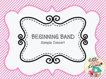 Beginning Band Repertoire List with Teaching Notes