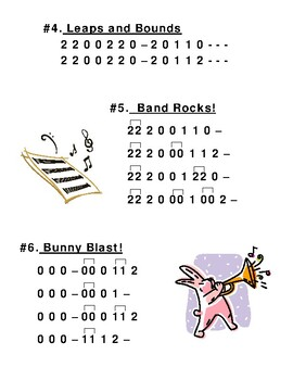 Beginning Band 3 Note Songs