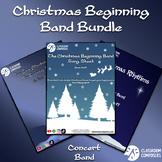 Beginning Band Christmas Bundle - Sheet music, duets, and