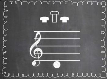 Beginning Band Fingerings Mega-Set {Chalkboard-Themed}