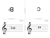 Beginning Band First 5 note Flashcards - Small