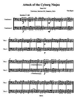 Beginning Band Flexible Instrumentation Duet: Attack of th
