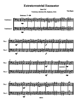 Beginning Band Flexible Instrumentation Duet: Extraterrest