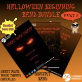 Beginning Band Halloween Bundle - Part 2 - Sheet Music, Ch