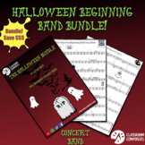 Beginning Band Halloween Bundle - Sheet music, duets, and