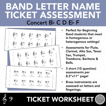 Concert Bb Scale Worksheets Teaching Resources TpT