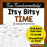"""Middle School Band Music: Fundamentals for Band """"Itsy Bitsy Time"""""""