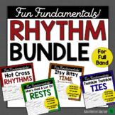 Middle School Band Music: RHYTHM BUNDLE-Fundamentals for Band