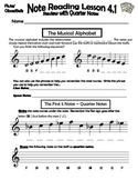 Beginning Band Note Reading: The Review