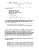 Beginning Band Note Reading: Timed Tests