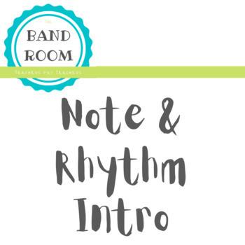 Beginning Band: Note & Rhythm Intro