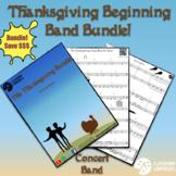 Beginning Band Thanksgiving Bundle - Sheet music, duets, a