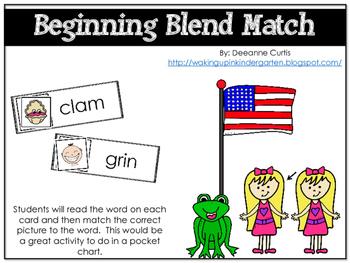 Beginning Blend Match