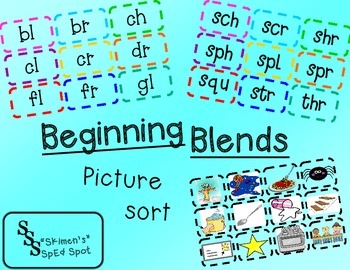 Beginning Blend Picture Sort