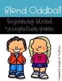 Beginning Blend Recognition Oddball Game