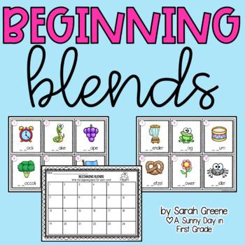 Beginning Blend Scoot {freebie!}
