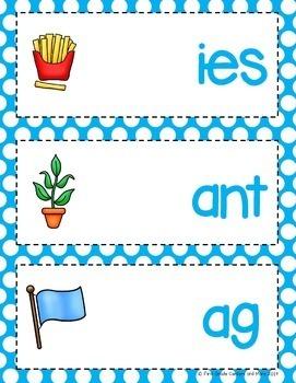 Blends Word Building Mats