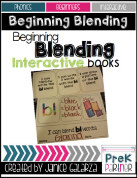 Beginning Blending Interactive Books