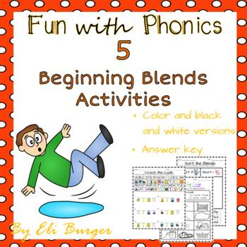 Beginning Blends - Fun with Phonics!