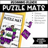 Beginning Blends Activities | Puzzle Mats