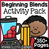Beginning Blends Activity Bundle