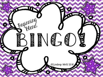 Beginning Blends Bingo!