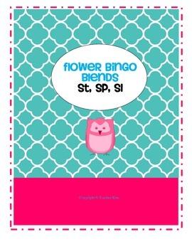 Beginning Blends Bingo st, sp, sl