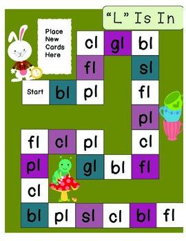 Consonant Blends - Beginning Blends Board Games Value Pack