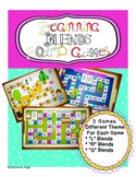 Consonant Blends - Beginning Blends Board Games Value Pack