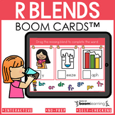 Beginning Blends Boom Cards | R Blends Distance Learning