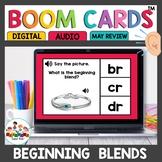 Beginning Blends Boom Cards for Kindergarten