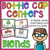 Beginning Blends CCVC Words Bottle Cap Centers