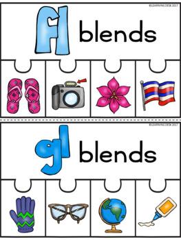 Beginning Blends Center (Blends Puzzles)