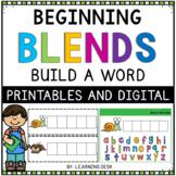 Beginning Blends Activity- L R S Blend Activity (Build a Word)
