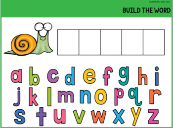 Beginning Blends Activity- L R S Blend Activity (Build a Word)