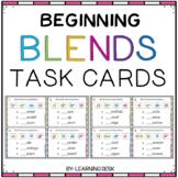 Beginning Blends Activity- L R S Blend Activity (Task Cards)