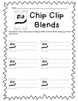 Beginning Blends - Chip Clips