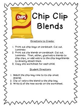 Beginning Blends - Chip Clips