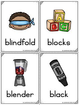 Beginning Blends Activity- L R S Blend Activity