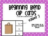 Beginning Blends Clip Cards vol.2