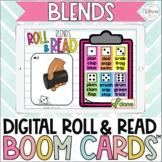Beginning Blends Digital Roll & Read Boom Cards™