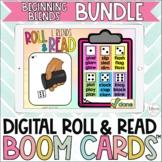 Beginning Blends Digital Roll and Read Boom Cards Bundle