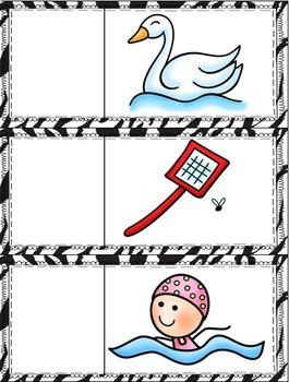 Beginning Blends & Digraphs Alphabet Magnet Mats for Phonemic Awareness