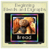 Beginning Blends & Digraphs BUNDLE   Posters, Cards, PowerPoint