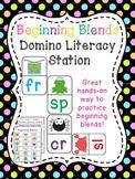 Blends Dominoes Literacy Station Fun Consonant Blends Assessment Reading Game